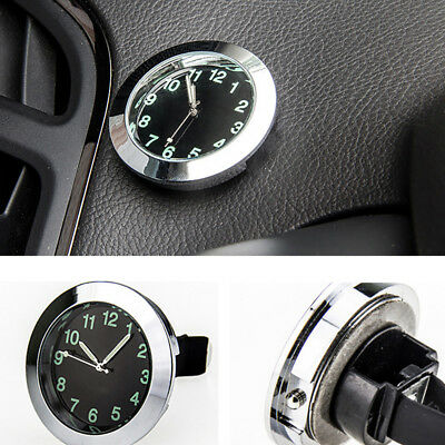 Car Air Vent Clip Clock Luminous Dashboard Auto Car Quartz Analog Watch Hot