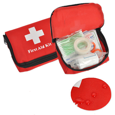 Mini Waterproof First Aid Kit Bag Medicine Pouch Travel Emergency Bag Hiking Bag