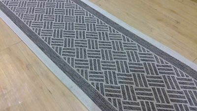 runner Flatweave cream/brown 67 wide Sisal Hallway Carpet Runner Rug Mat Long
