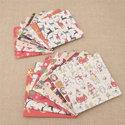 Cute Christmas Square Folding 8 Colors Origami Craft Lucky Wish Paper 72 Sheets