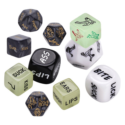 Lovers Dice Game! Saucy Adult Fun Naughty Gift Romantic Sex Aid Sex Position