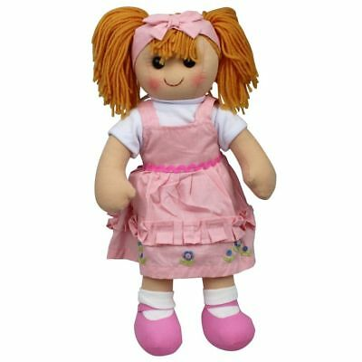 "Rag Doll Ella by Hopscotch Collectibles ragdoll soft toy doll 14""/35cm"