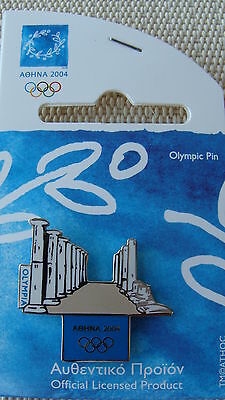 Ancient Olympia - Athens 2004 Olympic Games Pin Made By Trofe Themes From Greece