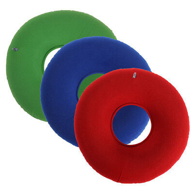 Inflatable Ring Round Seat Cushion Medical Hemorrhoid Pillow Donut 3 Colors