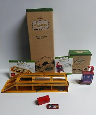 Hallmark Kiddie Corner Collection Mechanic's Lift with Toolbox & KC's Motor Oil