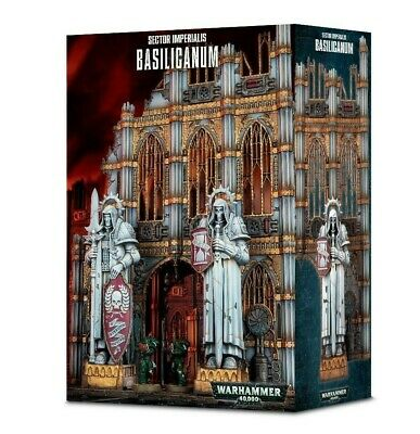 Sector Imperialis: Basilicanum Games Workshop Warhammer 40,000 Brand New