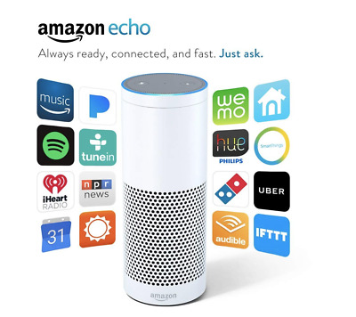 Amazon Echo (1st Generation-Certified) - Color:White - FREE SHIPPING