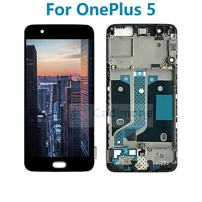 New For Oneplus 5 A5000 LCD Display Touch Screen Digitizer Assembly + Frame SL01