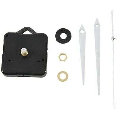 Quartz Clock Movement Mechanism DIY Repair Parts + White Hands W4B7 SGH