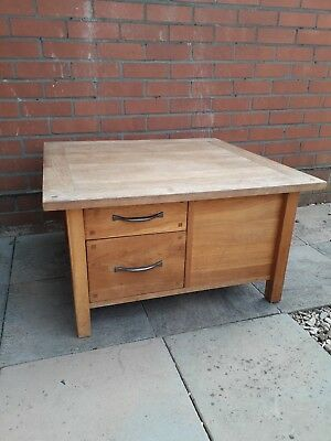 Laura Ashley Milton 4 Drawer With Shelves Coffee Table