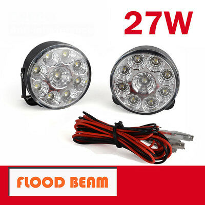 2X 27W CREE LED WORK LIGHT OFFROAD FLOOD REVERSE LAMP TRUCK Driving Light 12V AU