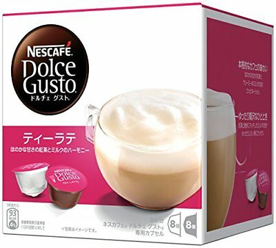 Nestle Nescafe Dolce Gusto Capsule TEA LATTE Rich 8 Cups Buy in Bulk Japan F/S