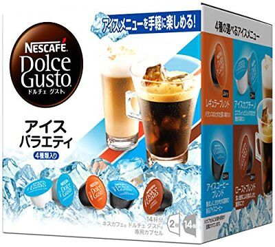 Nestle Nescafe Dolce Gusto Capsule Iced Assorted 16 Cups Buy in Bulk Japan F/S