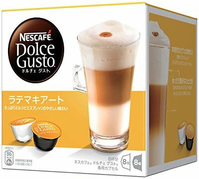 Nestle Nescafe Dolce Gusto Capsule Latte Macchiato 8 Cups Buy in Bulk Japan F/S