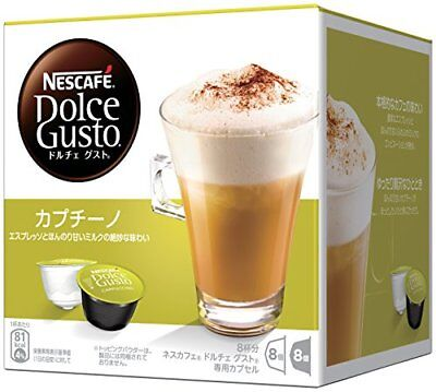 Nestle Nescafe Dolce Gusto Capsule Cappuccino Rich 8 Cups Buy in Bulk Japan F/S