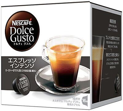 Nestle Nescafe Dolce Gusto Capsule Espresso Intenso 16 Cups Buy in Bulk Japan