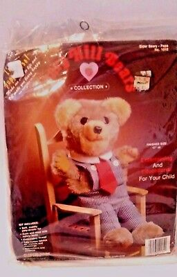 Beary Hill Bears Collection Elder Beary Papa Bear/Puppet Kit 1984 Crafts