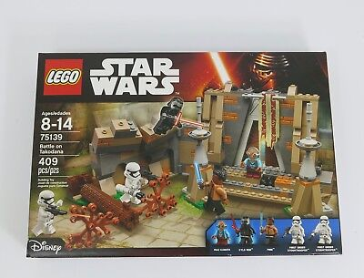 Lego 75139 Star Wars Set Battle on Takodana Brand New 409 Pieces
