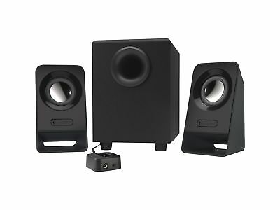 Computer Pc Speakers 2.1 Stereo Sound System Subwoofer Bass Gaming Music Gift