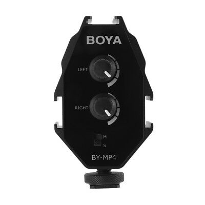 BOYA BY-MP4 Digital Audio Interface Mixer video for Phone, DSLR Camera LF854