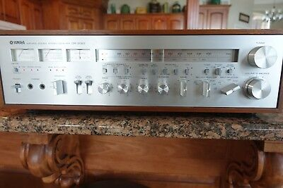 YAMAHA CR-2020 Receiver - SUPER MINTY - Just back from full service 8/28/18