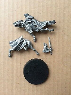 Mounted Ringwraith (Mordor Nazgul) metal LOTR Lord of the Rings Warhammer