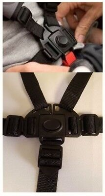 BOB REVOLUTION Stroller 5 Point Buckle Harness Clip Straps Replacement PartsNEW