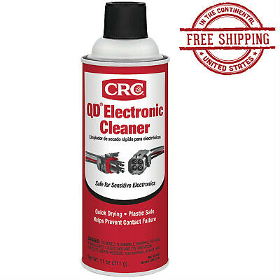Premium Electronic Contact Cleaner Spray Best Quick Drying Specialist Fix 11 Oz.