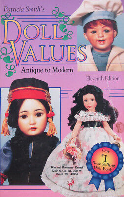 Patricia Smith's Doll Values Antique to Modern Patricia R. Smith 1995 Paperback