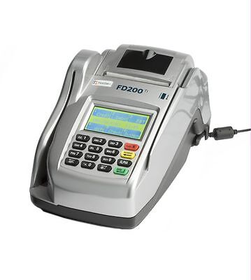 First Data FD200Ti Ethernet & Dial Terminal & Check Reader