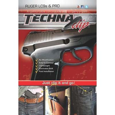 Techna Clip For Ruger LC9S, Pro, EC9S 9mm Right Side IWB  Holster Clip LC9SBR