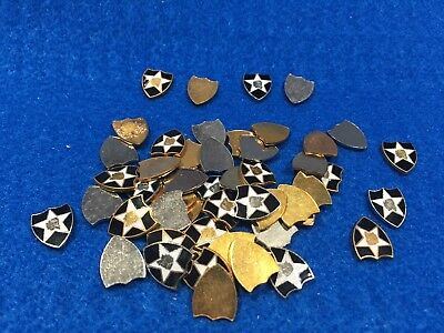 Lot Of 50 Vintage US Army 2nd Infantry Division Emblems - NOT PINS