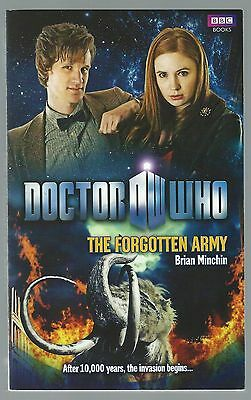 Doctor Who: The Forgotten Army Brian Minchin BBC Paperback 2011 Good+ Condition