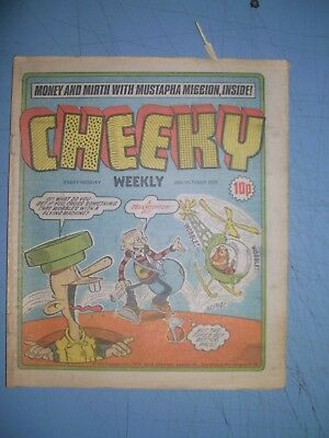 Cheeky issue dated October 20  1979