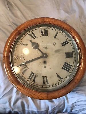 antique fusee wall clock