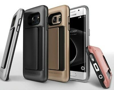 Samsung Galaxy S8 S8Plus Slim Card Clip Armor Heavy Duty Shock Proof Cover Case