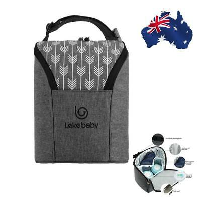 Baby Insulated Bottle Keep Warmer Carrier Bag Travel Handbag Pouch Li Travel Bag