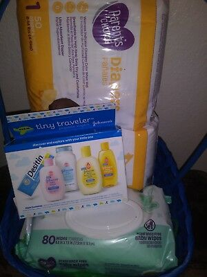 Welcome! New Gerber Baby Boy Shower Gift Basket