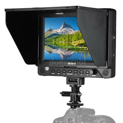 7'' HD Video Monitor Support 4K HD/SDI/AV/TALLY IN HD/SDI OUT for Sony A7 N1D5