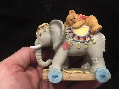 Cherished Teddies 1995 103977 Elephant Trunk Full Of Bear Hugs X18