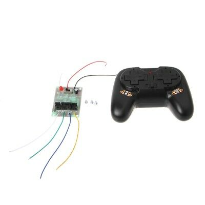 4CH 2.4G Wireless RC Toy Module Remote Control Receiver Transmitter 5A 50M