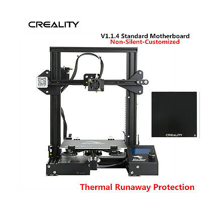 Creality Ender 3 3D Printer 220X220X250mm DC 24V + Glass Bed OSHW Certified