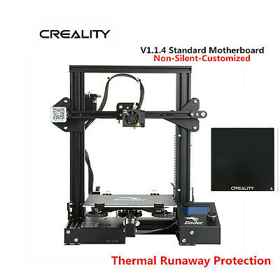 Creality Ender 3 3D Printer 220X220X250mm Thermal Runaway Protection + Glass Bed