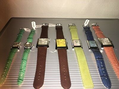"Lot Of 7 Roberto Bianchi Watches  Mens/ladies ""NEW"". Perfect For Resell Or Gifts"