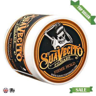 Suavecito Pomade Original Hold Strong Firme Hold Hair Gel Water Based 4 oz -113g