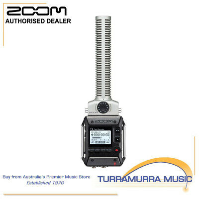 Zoom F1-SP Field Recorder with Shotgun Mic Portable Media Recorder F1SP