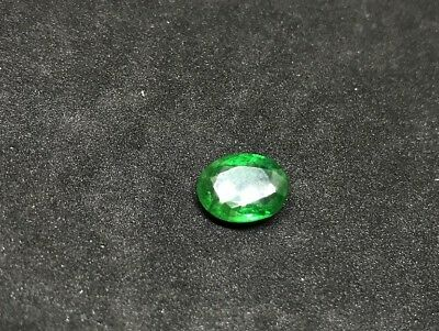 """Real Natural """"AAA"""" Quality 3.92 Ct Emerald Oval Green Loose Gemstones"""