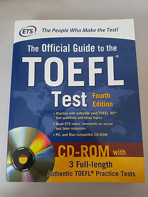 The Official Guide to the TOEFL Test - Fourth Edition (including CD-ROM)