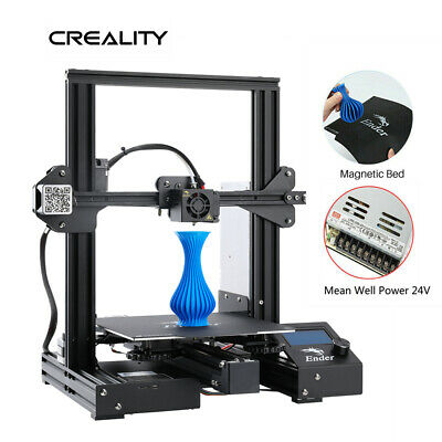 Creality Ender 3 Pro 3D Printer 220X220X250mm Mean Well Power LRS-350-24 DC 24V