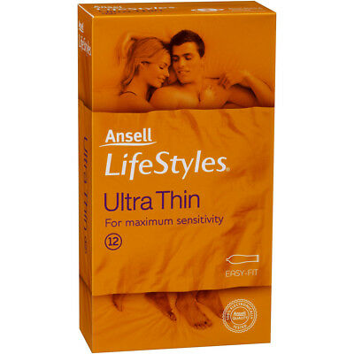 Ansell Life Style Condom Ultra Thin 12 Pack